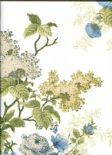 Waverly Cottage Wallpaper Emma's Garden 326085 By Rasch Textil For Brian Yates